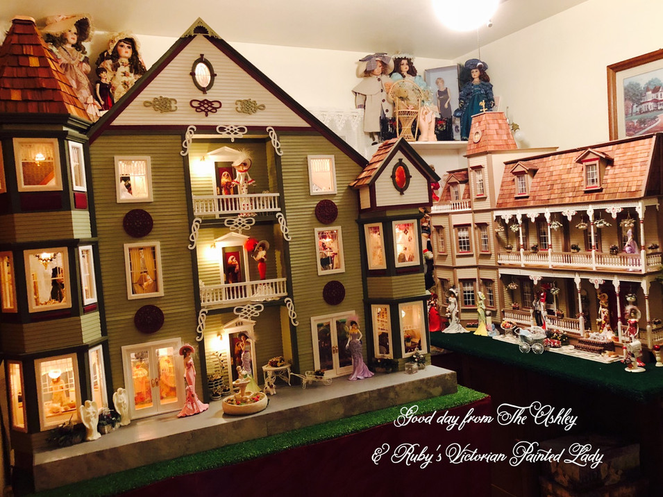 Good Morning from Ruby's Dollhouses