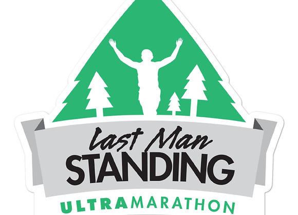 "Last Man Standing 5"" x 5"" sticker/decal"