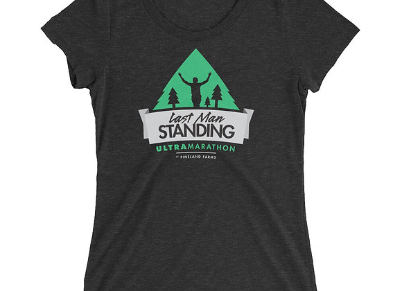 Ladies' short sleeve Last Man Standing t-shirt