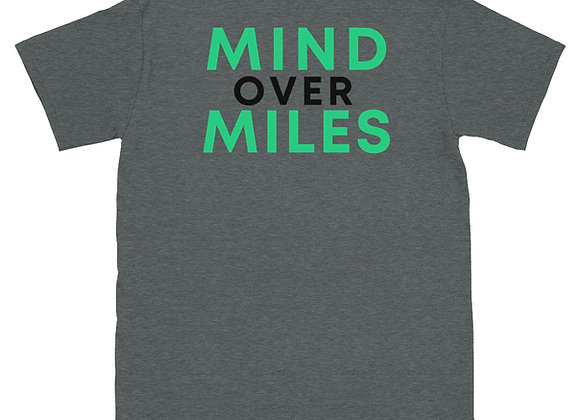 Mind Over Miles Short-Sleeve Unisex T-Shirt