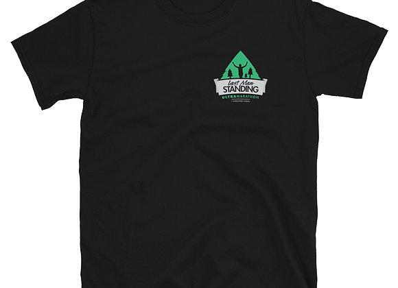 Short-Sleeve Last Man Standing Chest Logo Unisex T-Shirt