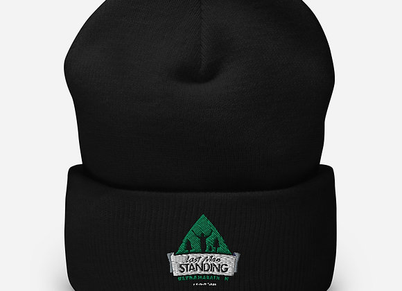 Last Man Standing Embroidered Cuffed Beanie