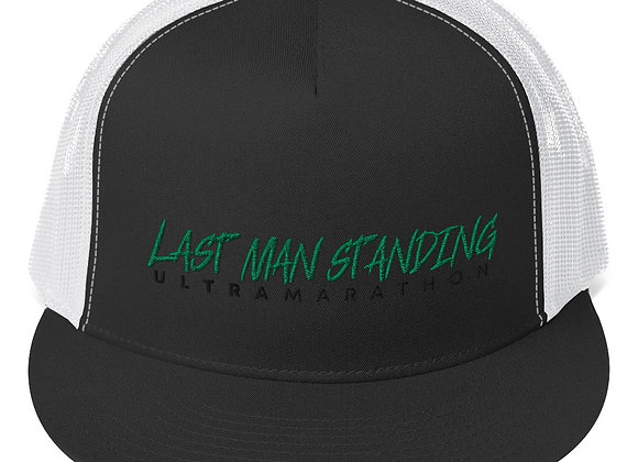 Last Man Standing Embroidered Trucker Cap