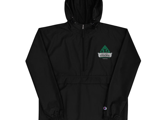 Embroidered Last Man Standing Champion Packable Jacket