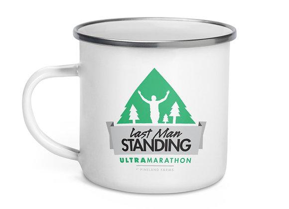 Enamel Last Man Standing Mug