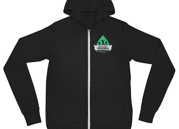 Unisex Last Man Standing zip hoodie