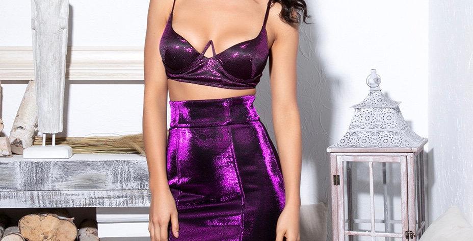 Bomba Bra Top - Purple