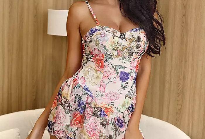 Morgan Mini Dress