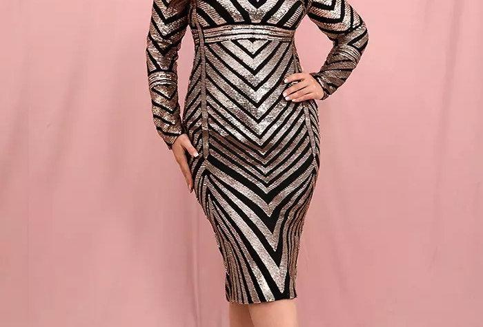 Sarah Midi Curve Dress