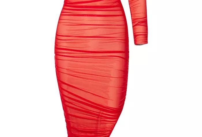 Siren Dress - Red