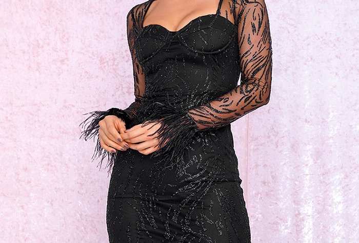 Tania Dress - Black