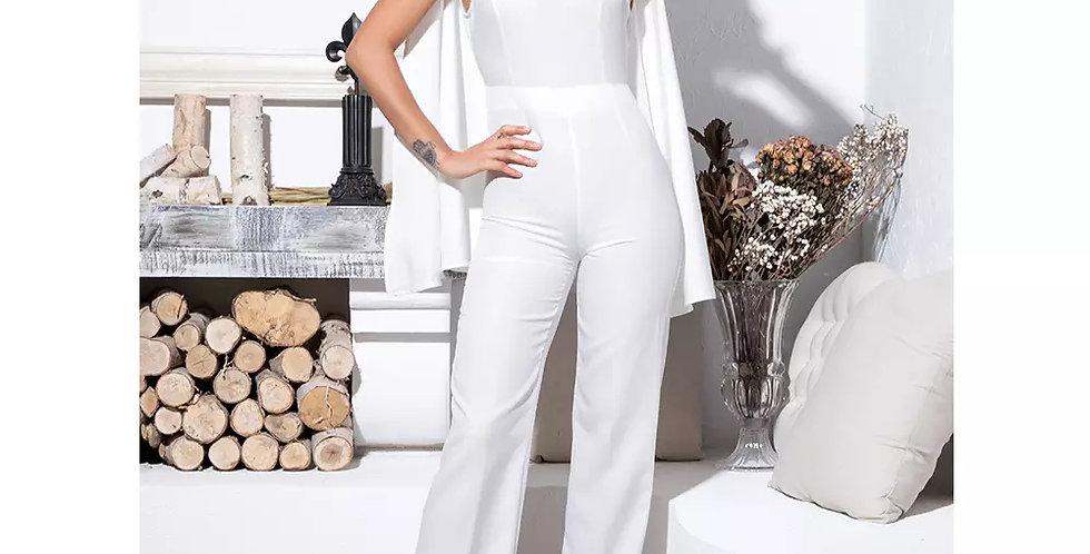 Dorinda Jumpsuit - White