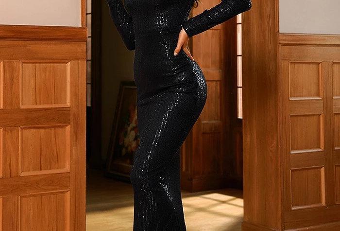 Maddox Gown - Black