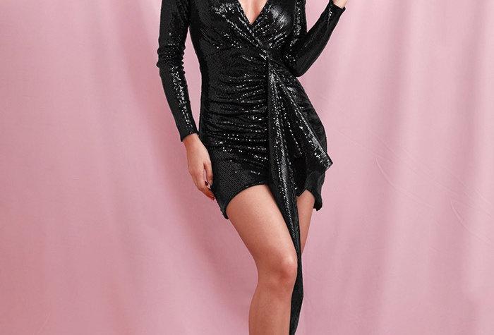 Diva Dress - Sequin