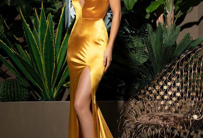 Brenda Gown - Yellow