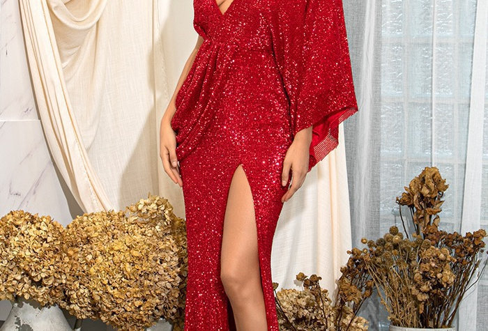 Athena Gown - Red