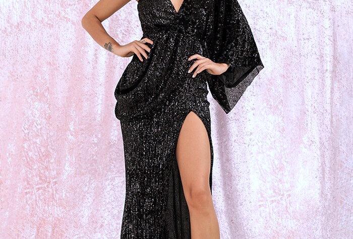 Athena Dress -Black