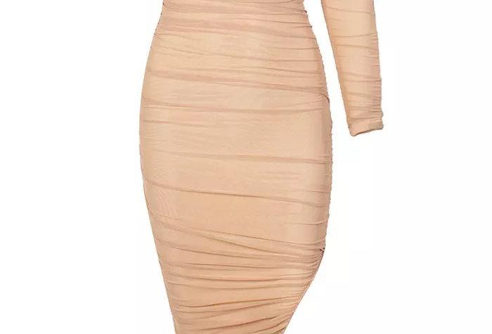 Siren Dress - Nude