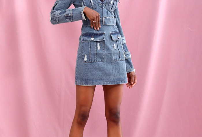 Tanya Denim Dress