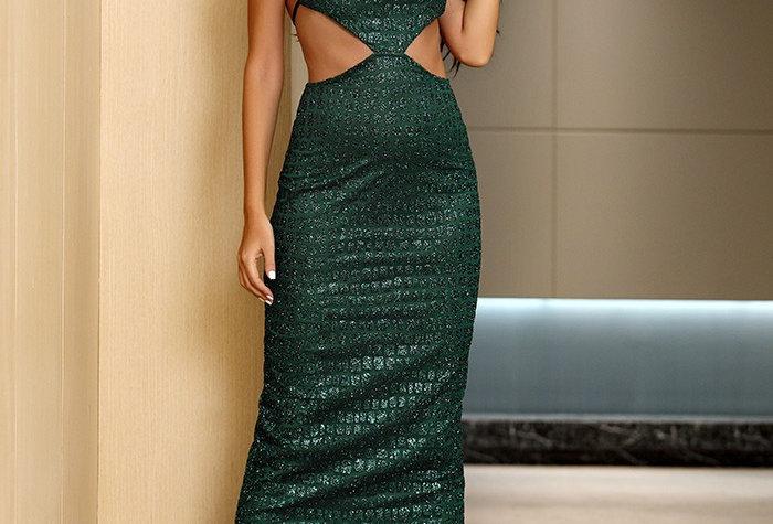 Carmen Snake Print Dress