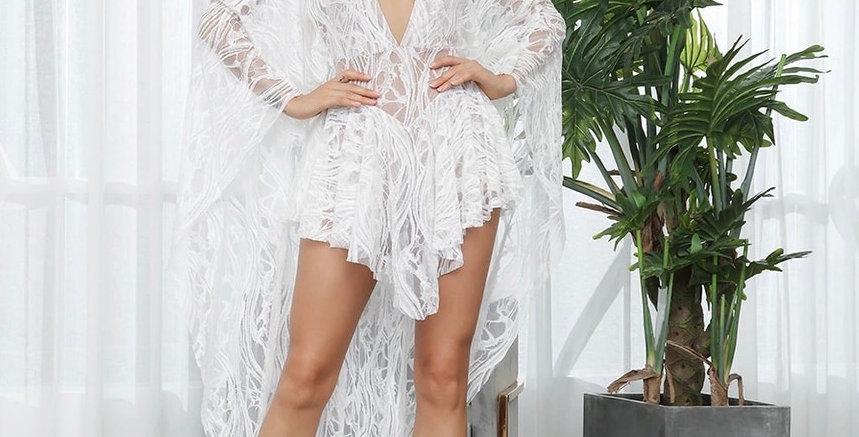 Ice Princess Dress - White