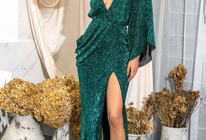 Athena Gown - Green