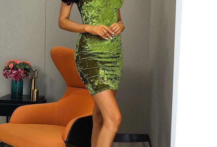 Mindy Dress - Velvet