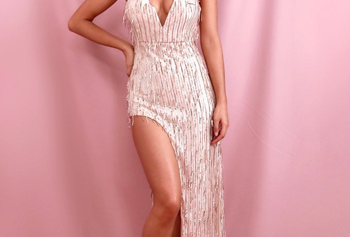 Chloe Tassel Gown