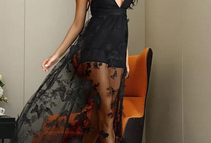 3D Butterfly Dream Maxi Dress