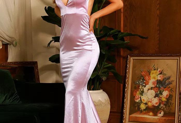 Brenda Gown - Light Pink