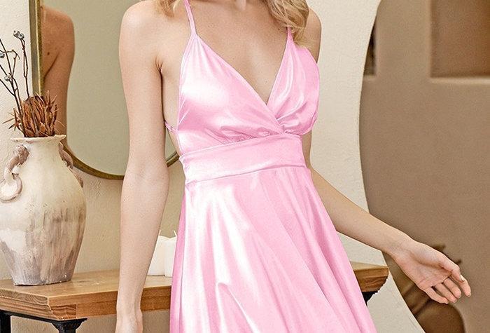 Paris Dress - Bubble gum