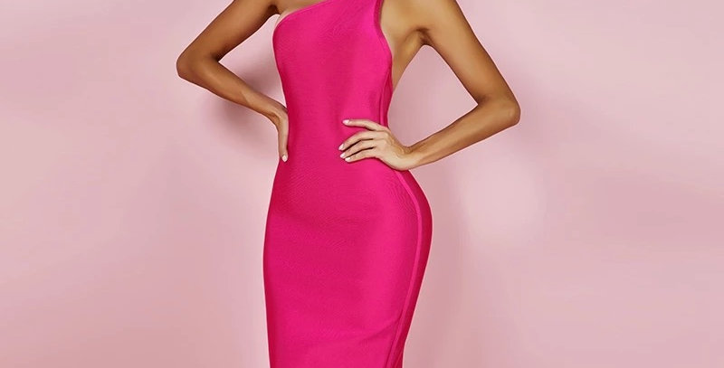 Erin Hot Pink Dress