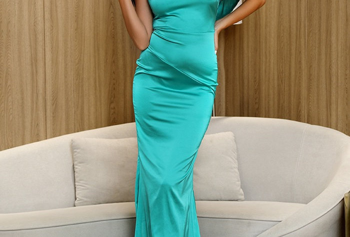 Heather Gown - Teal