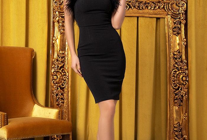 Mona Lisa Dress -Black