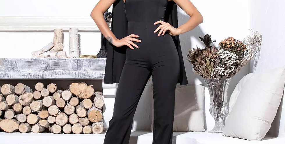 Dorinda Jumpsuit - Black