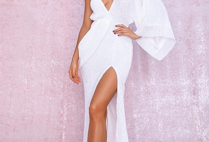 Athena Dress White