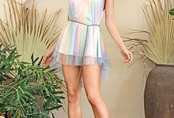 Prism Mini Dress