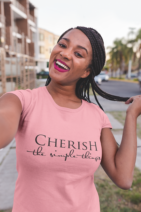 Incredibooty™ Motivation | Cherish the Simple Things PREMIUM T-Shirt