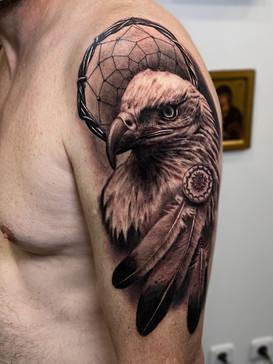 Tatouage réalisé par Thomas