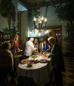 Dinner in Villa Clarice