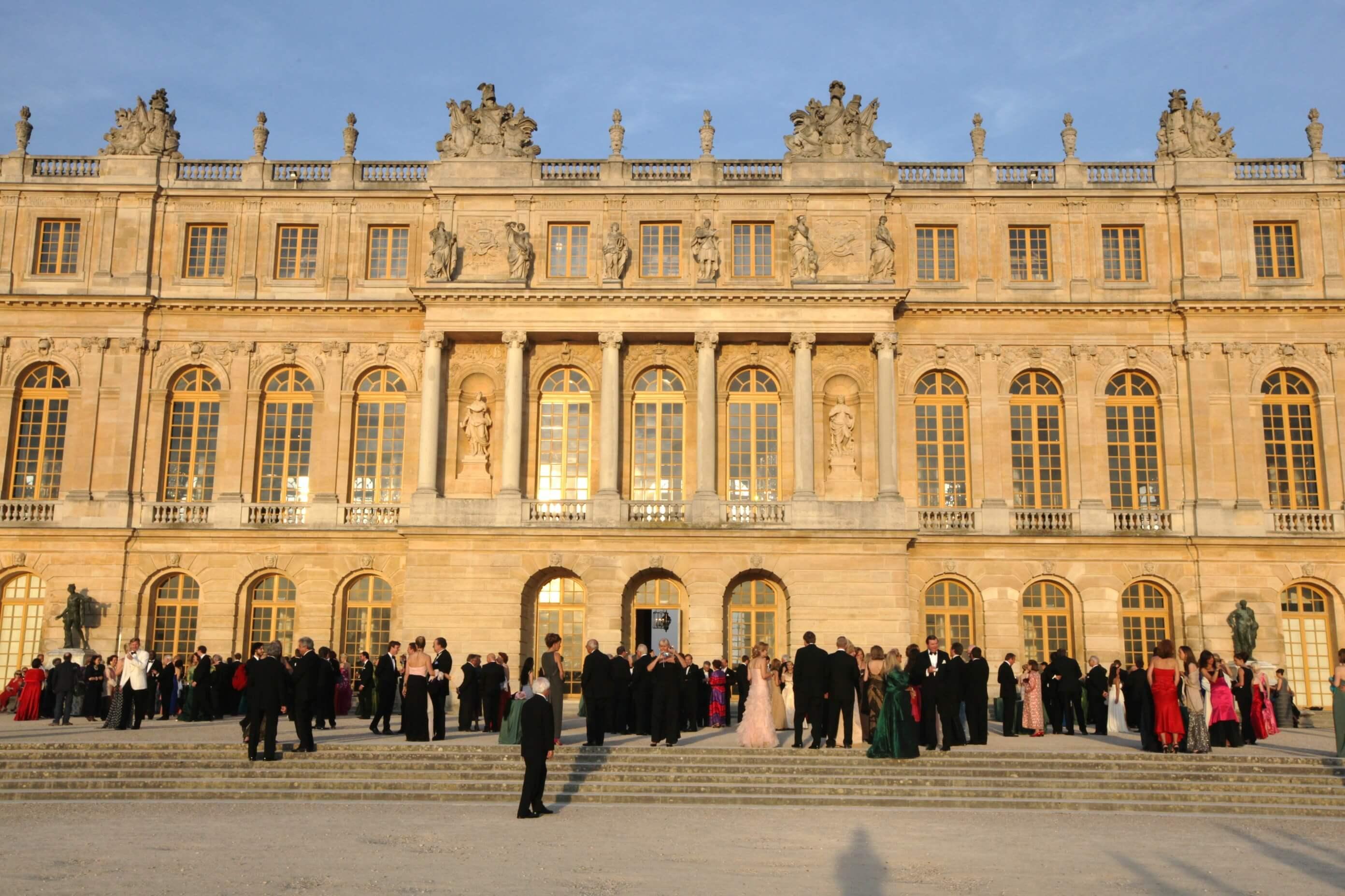 American Friends of Versailles on the te