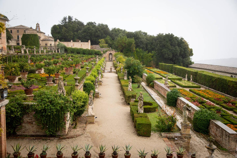 Visiting Villa Buonaccorsi