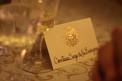 Bal de Versailles table card