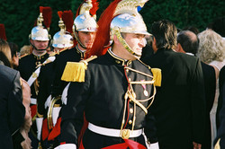 French Republican Guard at Versailles