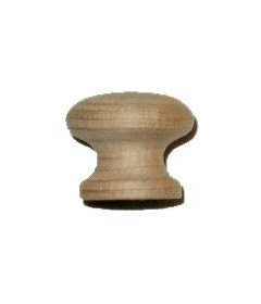 "Side Grain Beech Drawer Knob 1"""