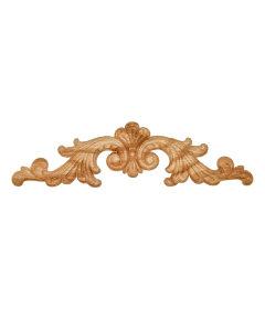 """Veneered Oak  Applique - 10-7/8"""" x 3"""""""