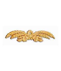 """Wheat Stalk Birch Wood Applique - 8-7/8"""" x 2-1/4"""""""