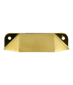 Brass Drawer Bin Pull