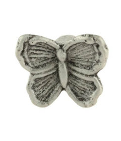 Butterfly Antique Pewter Drawer Knob
