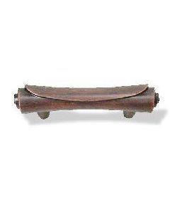 "Venetian Bronze Scroll Pull - 2-1/2"""